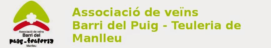 BARRI DEL PUIG - LA TEULERIA