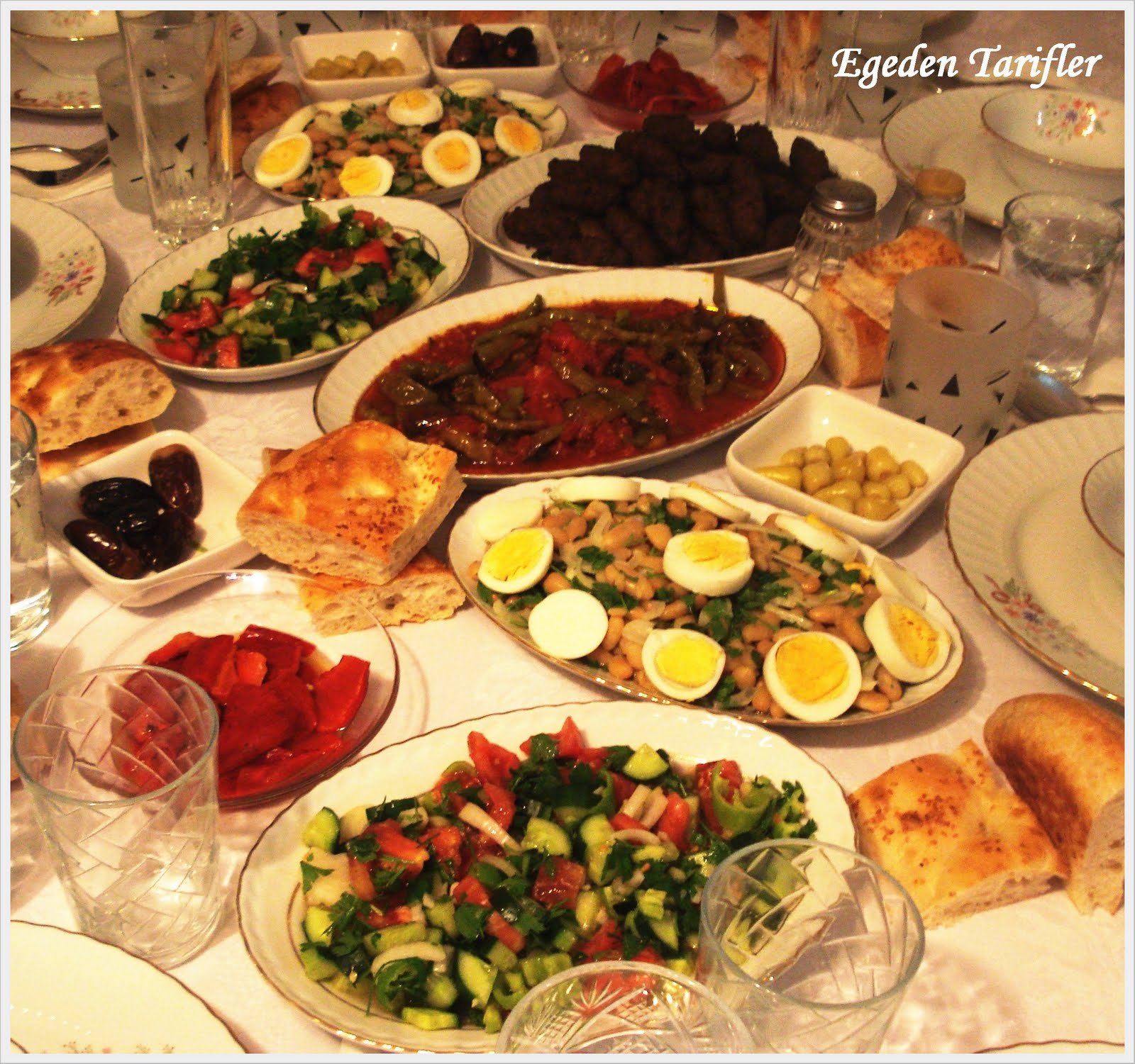 Iftar sofrası yemeği — Görsel Yemek Tarifleri Sitesi ...