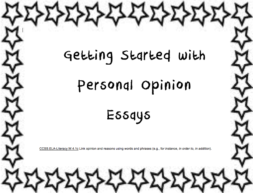personal response essay tips