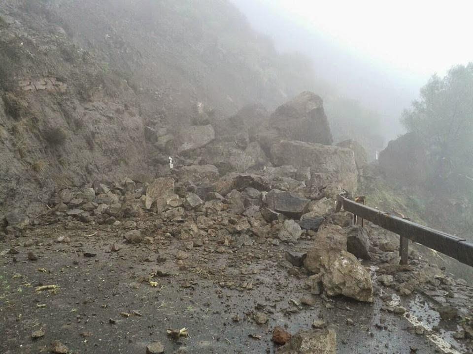 El temporal sigue en Canarias, 23 noviembre