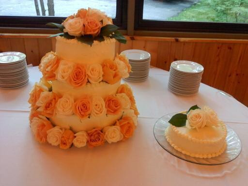 Mollie & bPaulie's Wedding Cake