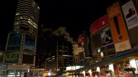 earth hour toronto. the end of Earth Hour on