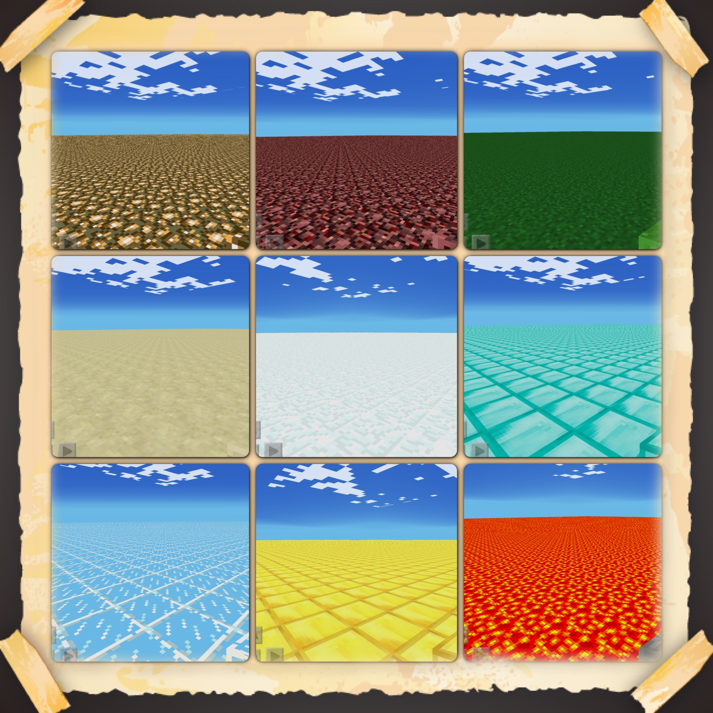 Minecraft pe worlds flat maps pack 1 download gumiabroncs Gallery