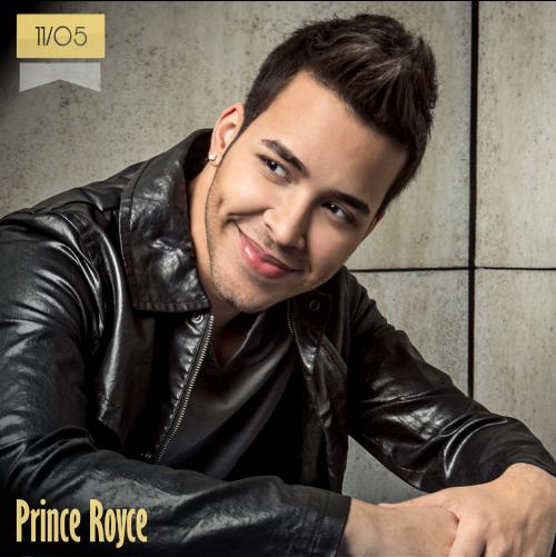 11 de mayo | Prince Royce - @PrinceRoyce | Info + vídeos