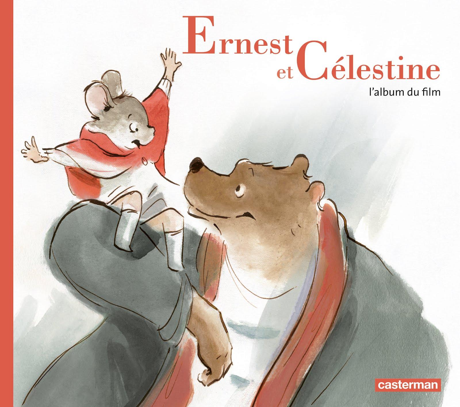 Ernest et Célestine affiche