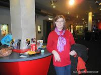 Im Cineplex in Friedrichshafen bevor es in den Kinosaal geht.