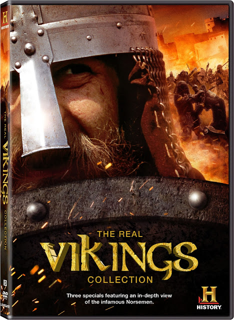 The Real Vikings Collection on DVD from History