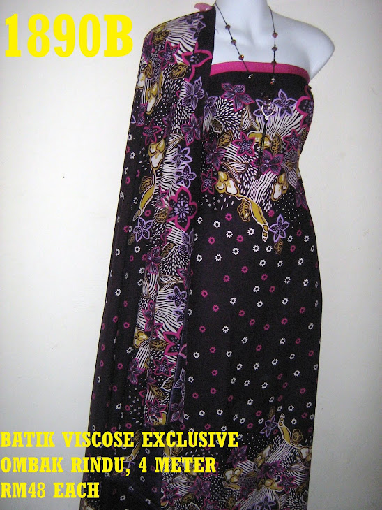 BV 1890B: BATIK VISCOSE EXCLUSIVE OMBAK RINDU, 4 METER