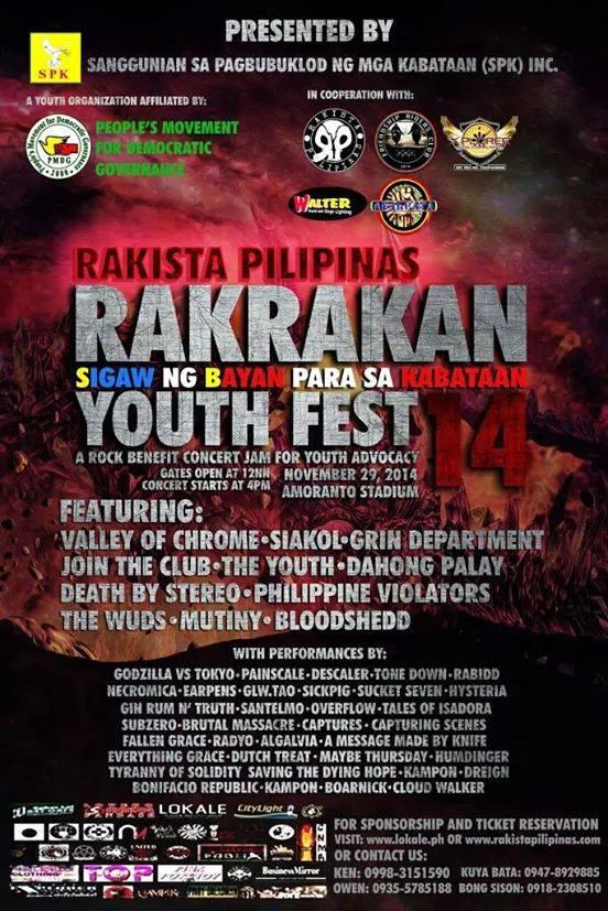Rakista Pilipinas Rakrakan Youth Fest 2014