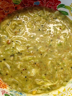 Cabbage Kootu,Green Cabbage,South Indian Gravy