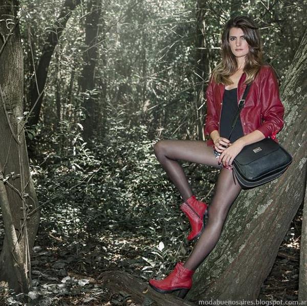 Moda otoño invierno 2015 Corium carteras, zapatos, botas y camperas de cuero Corium otoño invierno 2015.