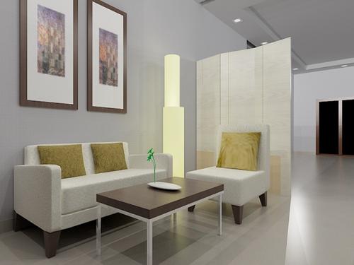 desain rumah desain ruang tamu minimalis terkini