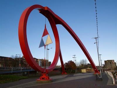Escultura Newport Wave