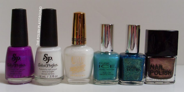 Salon Perfect, Milani, Pure Ice, H&M
