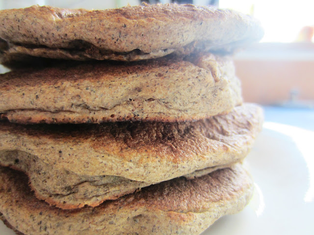 Banana Buckwheat Pancakes by Raia's Recipes