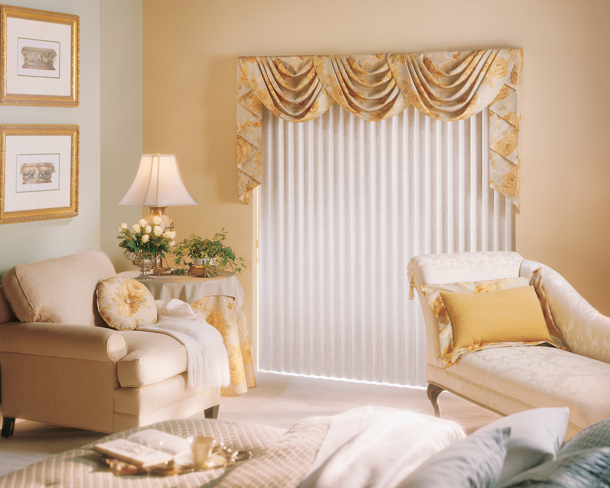 Valance Over Vertical Blinds