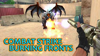 Screenshots of the Combat strike:Burning fronts for Android tablet, phone.