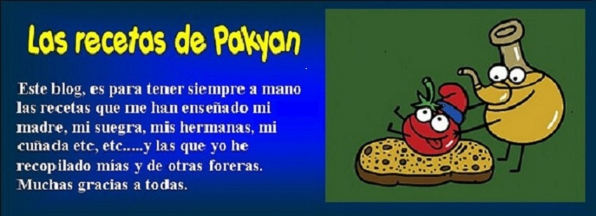 Las recetas de Pakyan