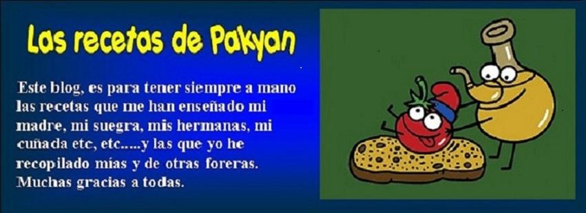 Las recetas de Pakyan