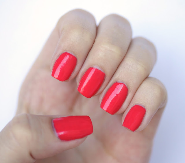 Models Own Coral Reef nail polish swatch