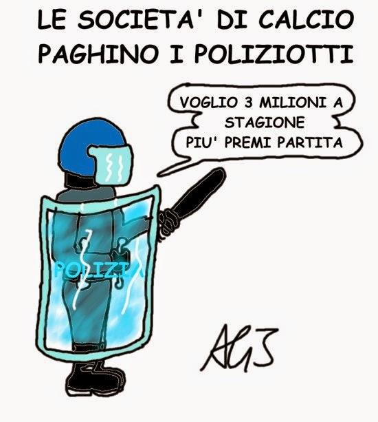 Calcio, polizia