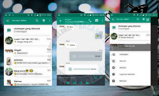 BBM Mod Green Innovation Apk V2.11.0.16