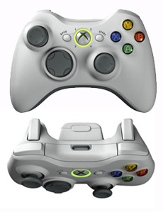 Layout do controle do Xbox 360
