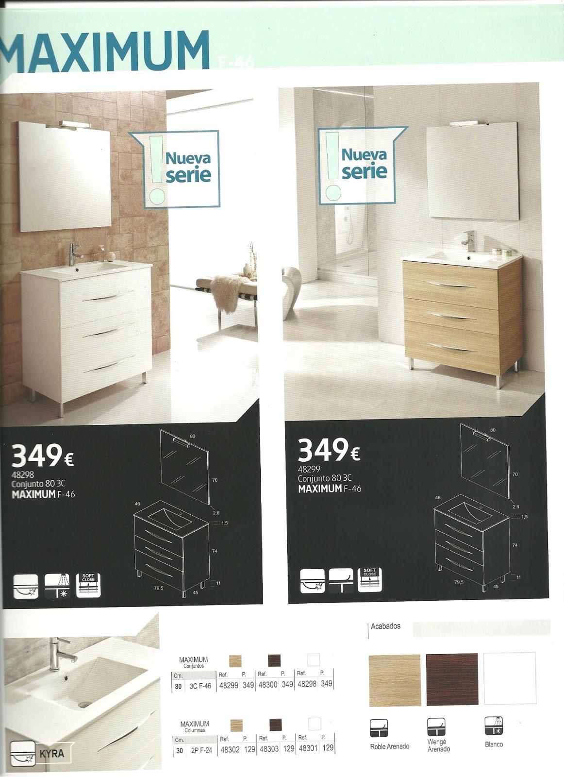 Muebles de ba o de oferta agrein reformas e instalaciones - Oferta muebles de bano ...