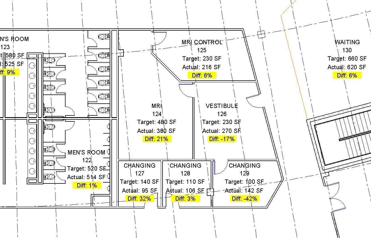 Ideate solutions pushing calculated values to tags using for Architecture firms that use revit