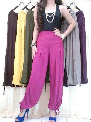Celana Kulot dan Aladin Kode MGT 007