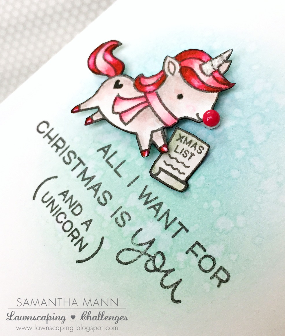 a christmas unicorn - Christmas Unicorn