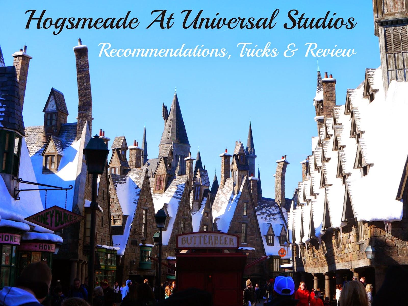 Hogsmeade At Universal Studios