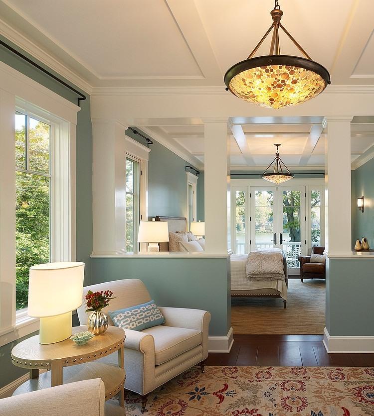 Die wohngalerie amerikanischer landhausstil zeitlos klassisch Home decor ideas wall colors