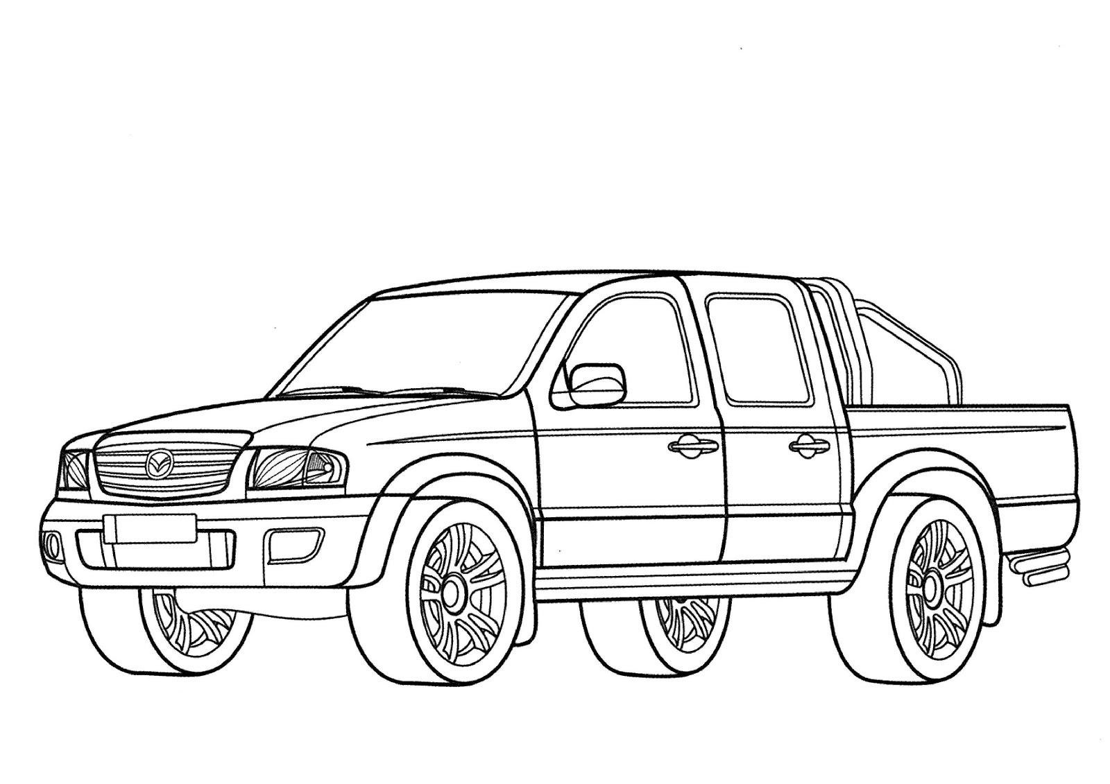 Contemporáneo Toyota Para Colorear Embellecimiento - Ideas Para ...