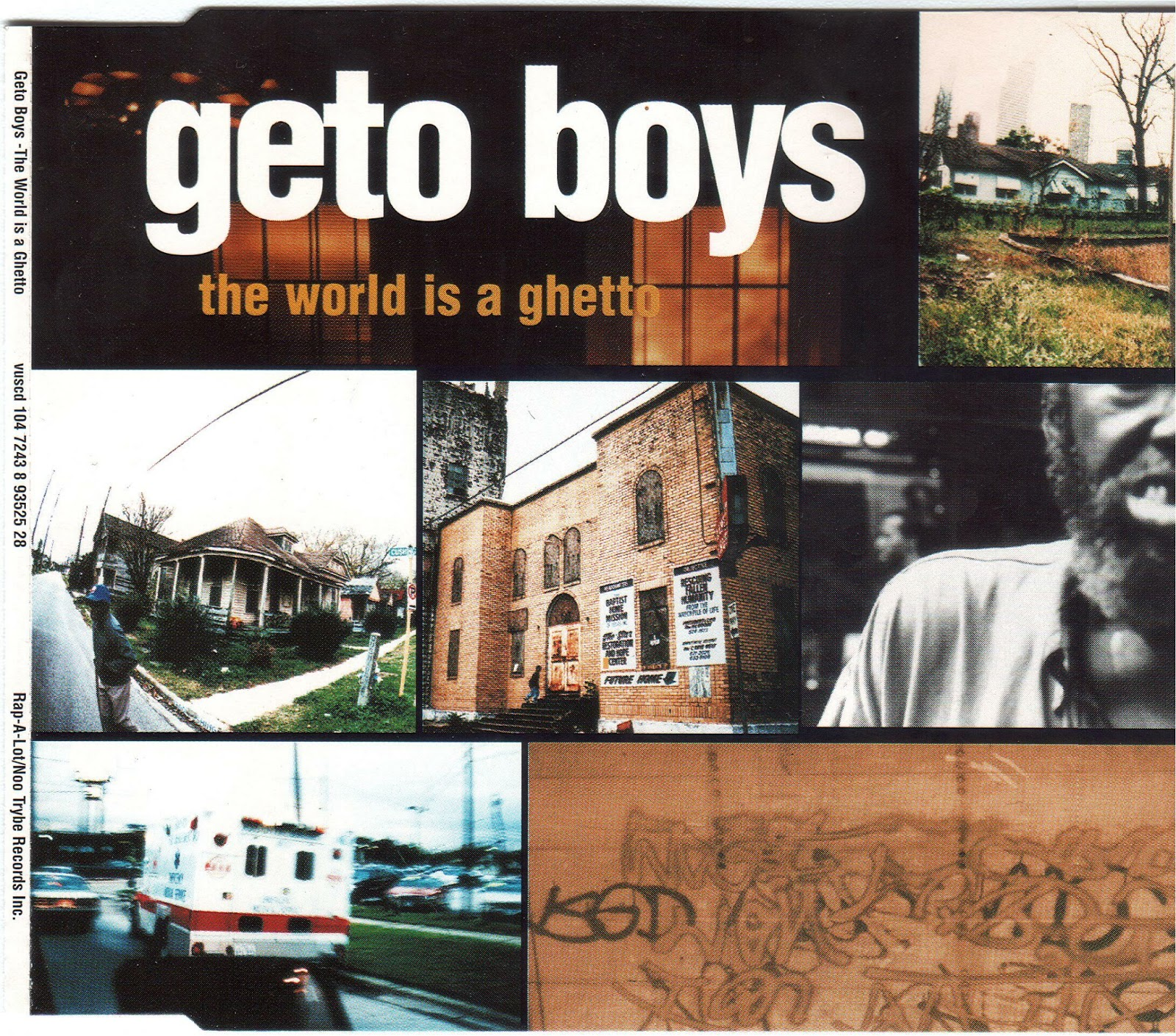 Geto Boys – The World Is A Ghetto (CDS) (1996) (192 kbps)
