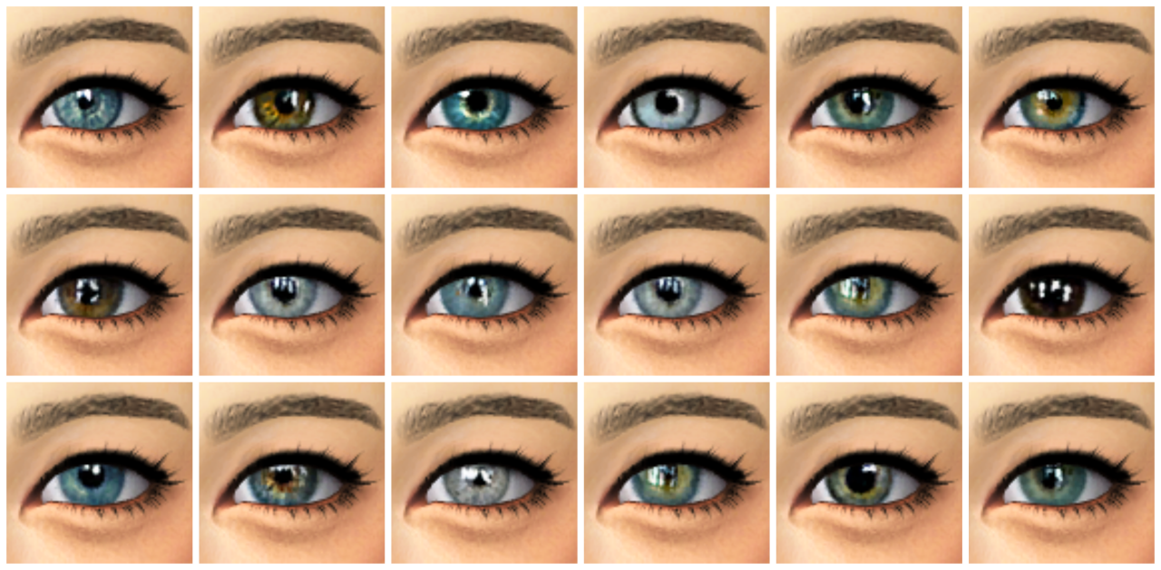 sims 4 how to add eyes