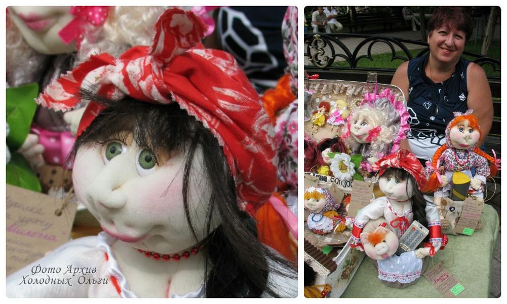 колготочная кукла