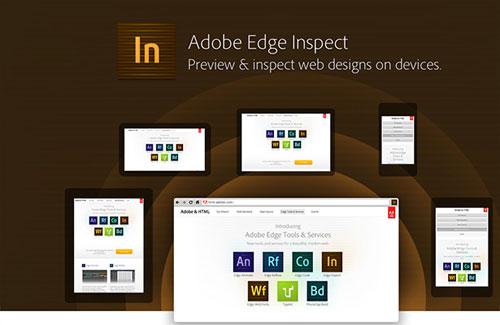 Adobe Edge Inspect
