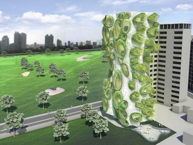 Formas orgânicas com alta tecnologia