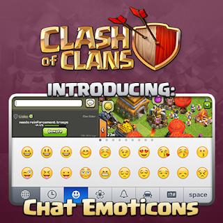 Cara Chat Dengan Emoticon Clash of Clans