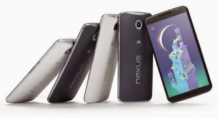 Google Nexus 6 resmi diumumkan, dengan prosesor quad-core 2,7 Ghz Snapdragon 805