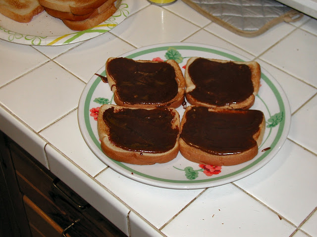 Chocolate Candy Toast!