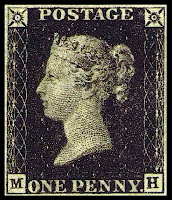 Penny black timbre