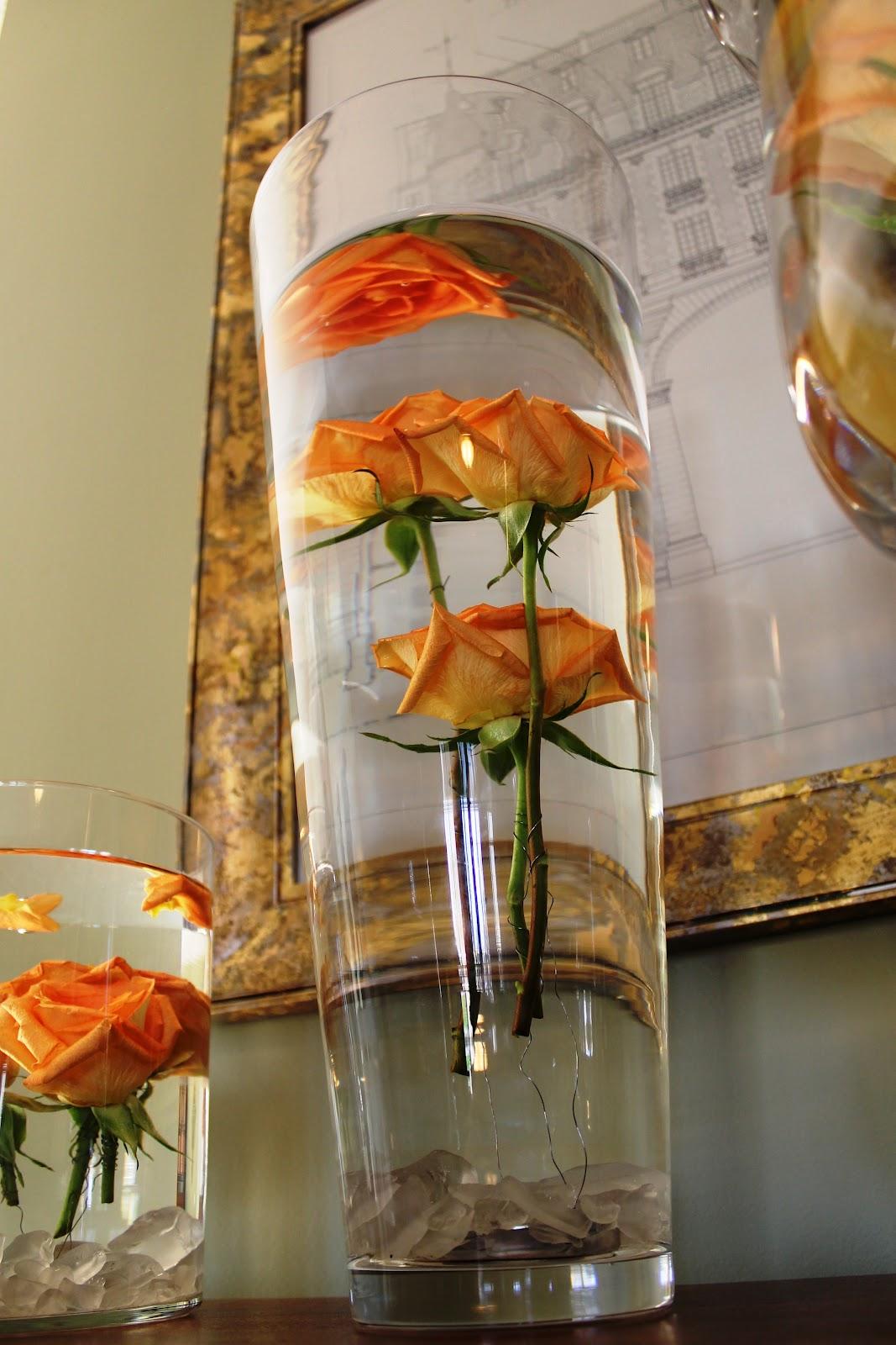 Цветы в банке с глицерином фото