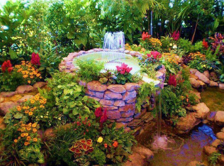 Amazing creativity awesome flower garden for Beautiful yard landscapes