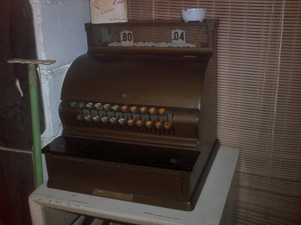 Old Drugstore cash register