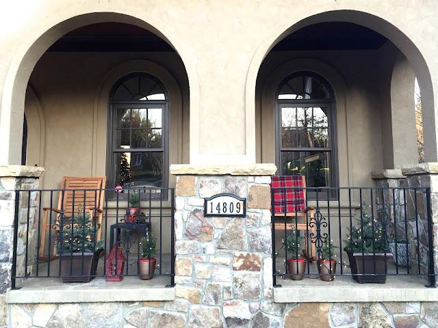 Cozy Winter Porch