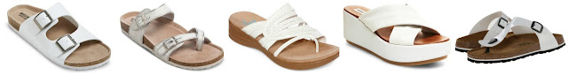Mossimo Bailey Two Buckle Footbed Sandals $18.74 (regular $24.99)  Mossimo Bree Footbed Sandals $18.74 (regular $24.99)  Yuu Jabiana Thong Sandals $29.99 (regular $60.00)  Steve Madden Becka $39.98 (regular $79.95)  Betula Licensed by Birkenstock Rose $44.99 (regular $69.95) alternate link