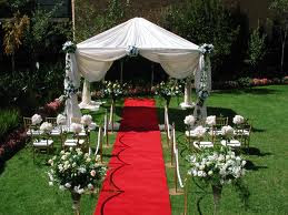 Elegant Outdoor Wedding Decoration Ideas