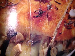 Sanduíche de maçãs com Blanquet de Peru e queijo